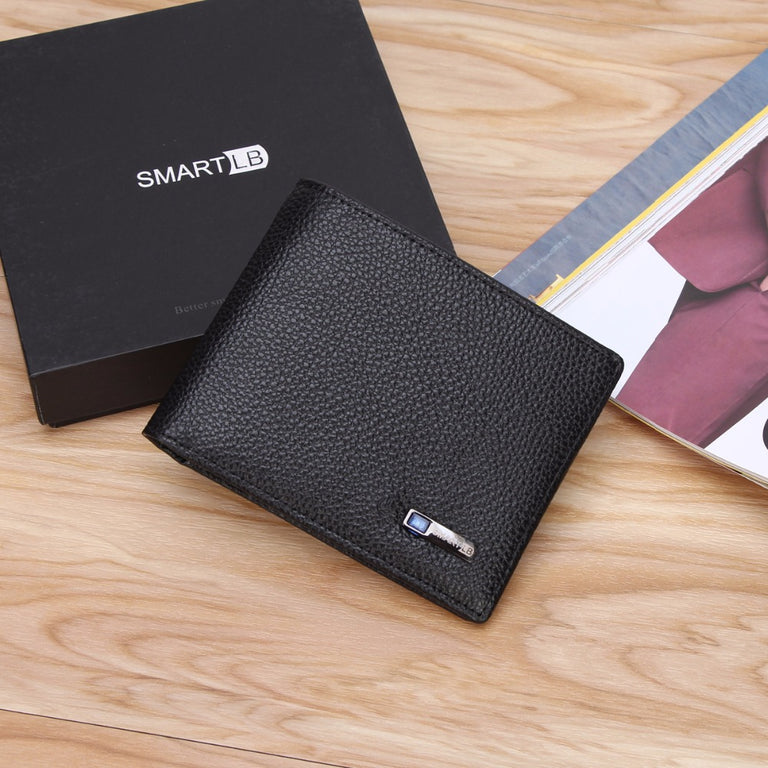 Ultraman Smart Leather Wallet With GPS Tracker