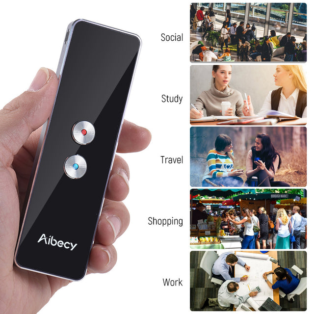 Aibecy Smart Multi Language Translator