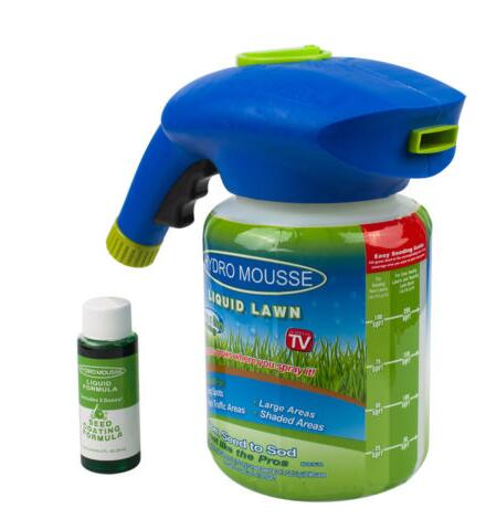Liquid Lawn Grass Seed Sprayer
