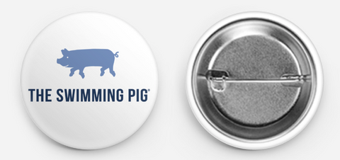 The Swimming Pig® Button