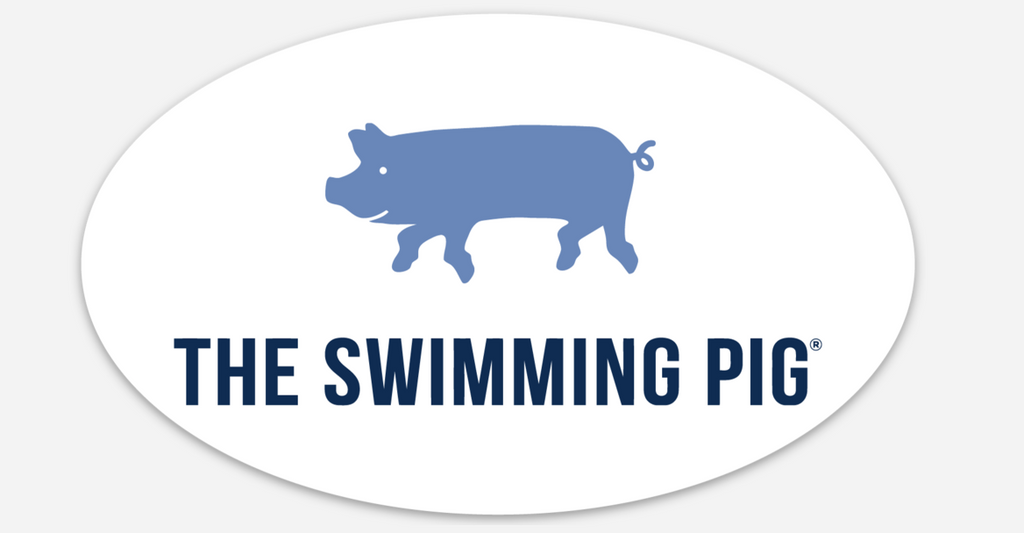 The Swimming Pig® Magnet