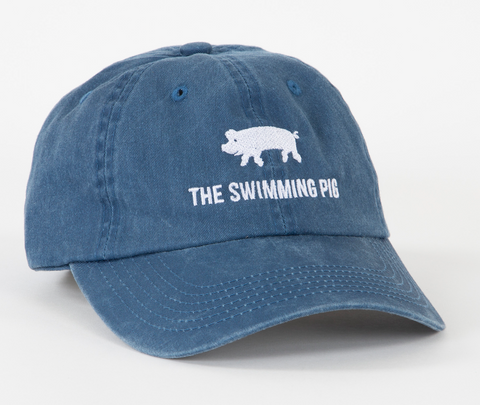 The Swimming Pig® Cap Navy