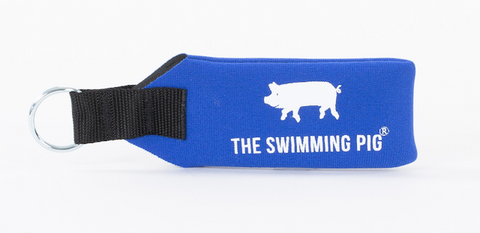 The Swimming Pig® Floating Croakies® Key Ring