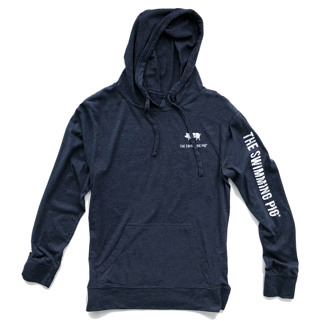 The Swimming Pig® Unisex Lightweight Hoodie