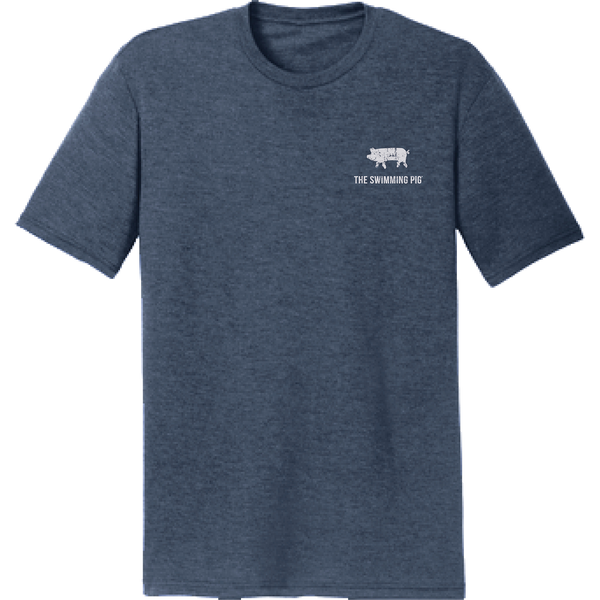 EAT.DRINK.SWIM. (BAHAMAS) Tee: Men's Navy Frost