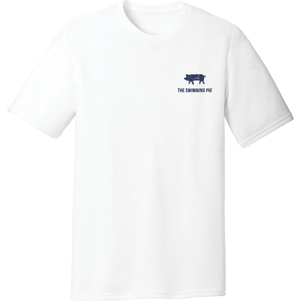 I SWAM WITH PIGS (BAHAMAS) Men's Tee