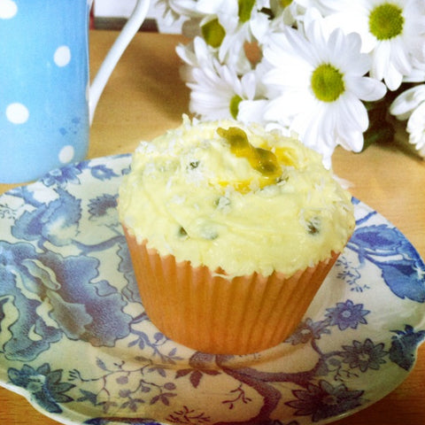 Passion Fruit and Coconut Cupcakes