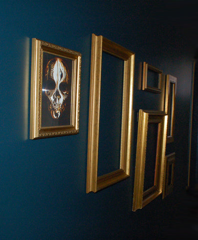 Gallery Wall - Gold Frames