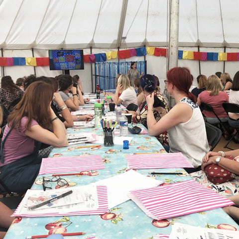 The Handmade Festival - Brush Lettering Workshop