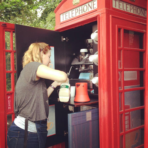 Phone Box Coffee