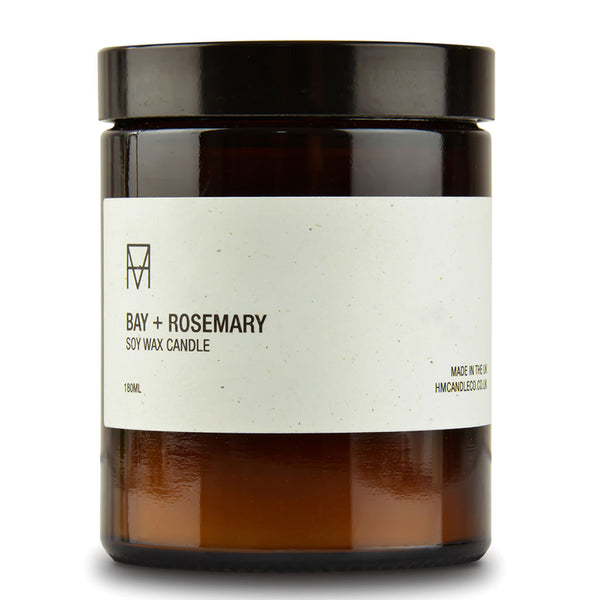 Bay & Rosemary Soy Wax Candle
