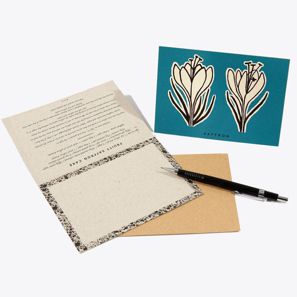 Flower Recipe Notecards