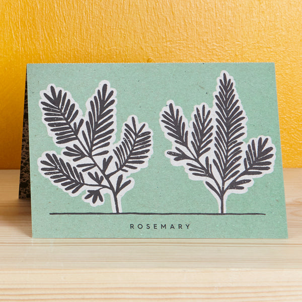 Herb Recipe Notecards