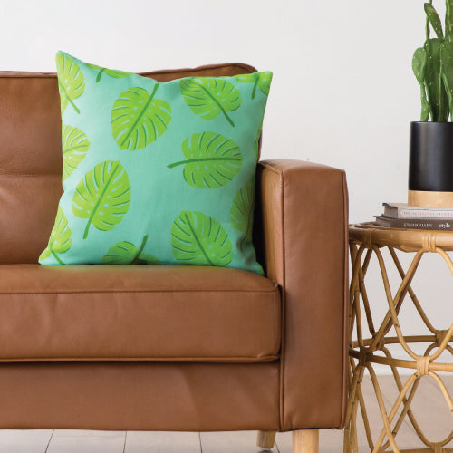 Palm Leaf Indoor/Outdoor Pillow