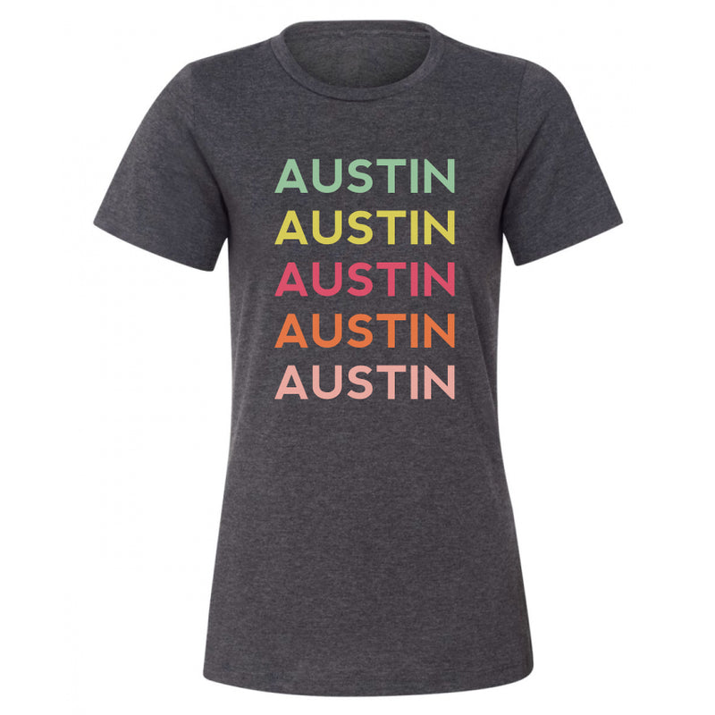 Texas State and City Repeat Tee (Austin, Houston, etc.)