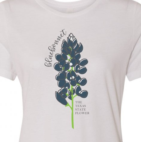 Bluebonnet, Texas State Flower Tee