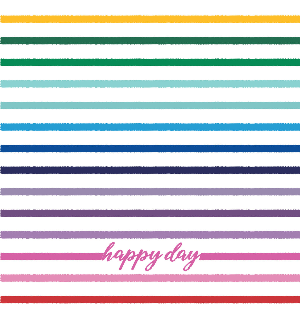 Happy Day Stripe Phone Wallpaper - FREE Digital Download