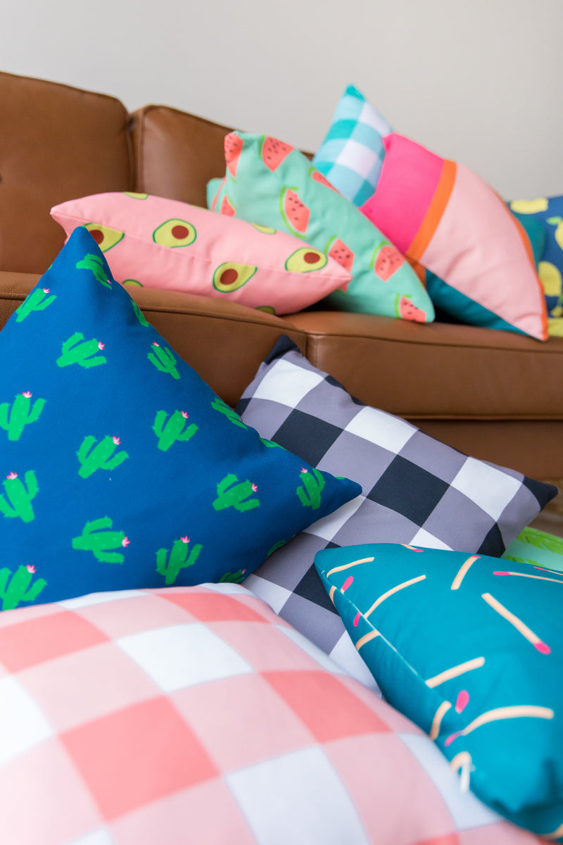 Cactus Indoor/Outdoor Pillow
