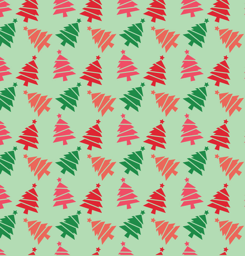 Colorful Christmas Tree Tech Wallpaper - FREE Digital Download