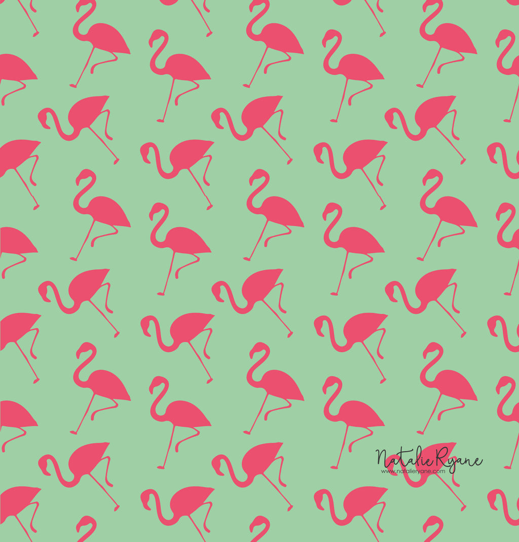 Flamingo Phone Wallpaper - FREE Digital Download