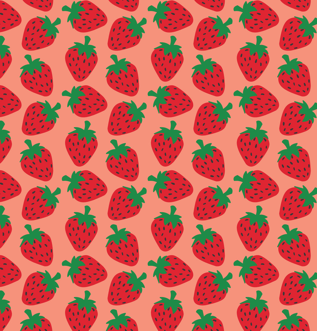 Strawberry Phone Wallpaper - FREE Digital Download