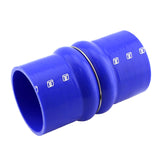 "DOUBLE HUMP HOSE 4.00"" - BLUE"