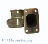 NT 7.1 Turbine Housing (69mm, 0.82A/R, T3 V-Band)