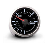 BOOST GAUGE 0-2 BAR 52MM - 2 1/16""