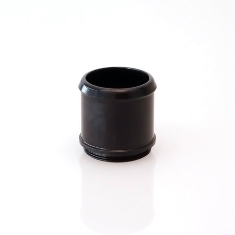 "BOV BUBBA 2.0"" PLUMB BACK FITTING - BLACK"