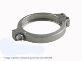 "2.50"" Diameter Stainless steel V-Band Clamp"