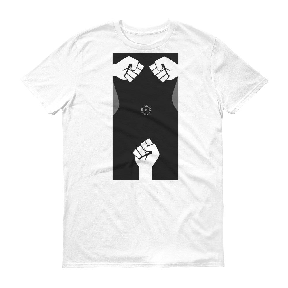 RESISTANCE IS FEMALE 2 Short sleeve t-shirt