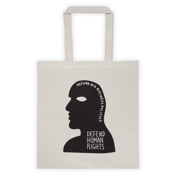 DEFEND HUMAN RIGHTS Tote bag