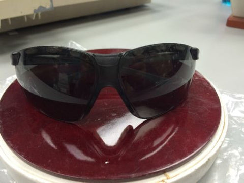 AOSafety 11422 Maxim ES Gray / Gray Sporty Safety Glasses NIB