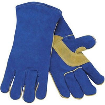 (12 Pairs) Memphis Split Cow Welders Gloves (XL)