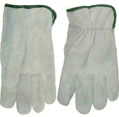 Global Glove 3200S Cow Grain Leather Split Driver Glove SZ Large (1 DOZEN)