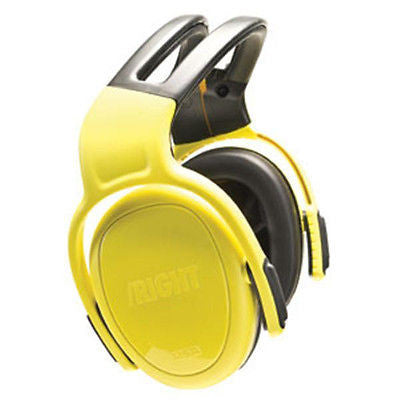 Ear Muffs - left/RIGHT (28dB) High Level Protection - Headband - Yellow NEW!