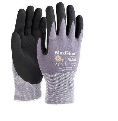 (12 Pairs) G-Tek Maxiflex Nitrile Foam Coated Gloves