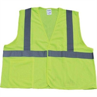 Choice SV2C1LLCH Class 2 Mesh Safety Vest, Yellow/Lime NEW IN BAG SIZE LG/XL!