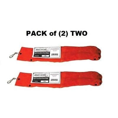 PACK OF (2) TWO Anchor brand WELDING Rod Bags - 75 - 5 lb Capacity EACH! NEW!