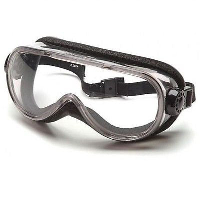Pyramex Safety Goggles SKI GOGGLES G404T with foam padding Clear Anti-Fog Lens