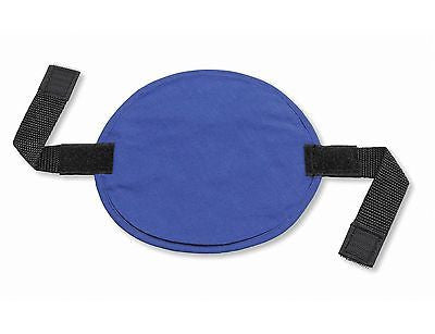 ERGODYNE CHILL-ITS Hard Hat Pad EVAPORATIVE HARD HAT COOL PAD 6715 BLUE NEW