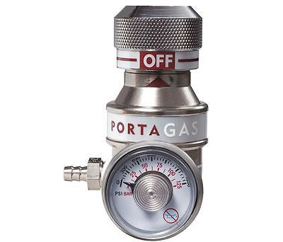 PORTAGAS Gas Regulator Flow Rate 0.5Lpm Cylinder Regulator 90005510 / 30N957
