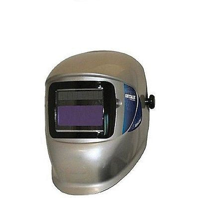 ★ NEW ★ WH40 ELEMENT Variable Auto-Darkening Welding Helmet Silver SOLAR POWER