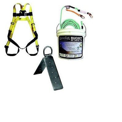 "50' ""Compliance In a Can"" Fall Protection Kit"