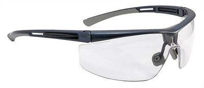 NORTH BY HONEYWELL T5900NBL Safety Glasses, Clear Lens, Half Frame NEW LOW $!