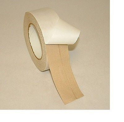 "Roll of Polyken 105C Double Sided Cloth Carpet 2"" Tape 25 Yards"