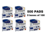 500 Alcohol Cleansing Pads Wipes  -155818D