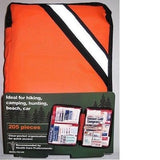 205-Piece Outdoor First Aid Kit hiking,camping,marine, home,car,boating- FAO440F