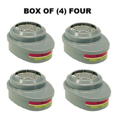 BOX OF (4) FOUR 815366MSA Advantage® Respirator Cartridges Multigas GME-P100