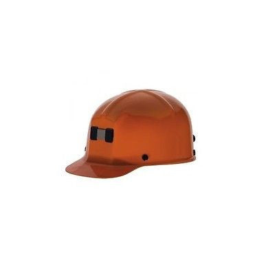 MSA 91589 Comfo-Cap Miner's Hat ORANGE - Safety Works NEW with BOX! LOW PRICE!